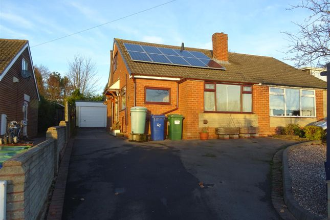 Thumbnail Semi-detached bungalow to rent in Tudor Road, Hednesford, Cannock