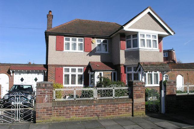 Thumbnail Detached house for sale in Ryecroft Avenue, Whitton, Twickenham