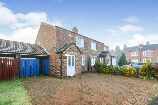 3 bed semi-detached house for sale in Main Street, Riccall, York YO19