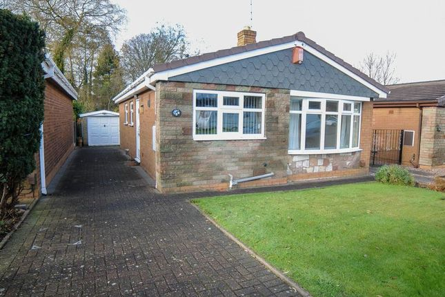 Thumbnail Detached bungalow for sale in The Oval, Blurton, Stoke-On-Trent