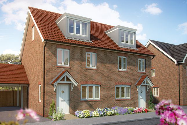 "Thumbnail Property for sale in ""The Beech "" at Drake Grove, Burndell Road, Yapton, Arundel"
