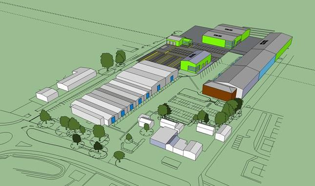 Thumbnail Light industrial to let in Proposed Development Neaton Business Park, Norwich Road, Watton, Norfolk