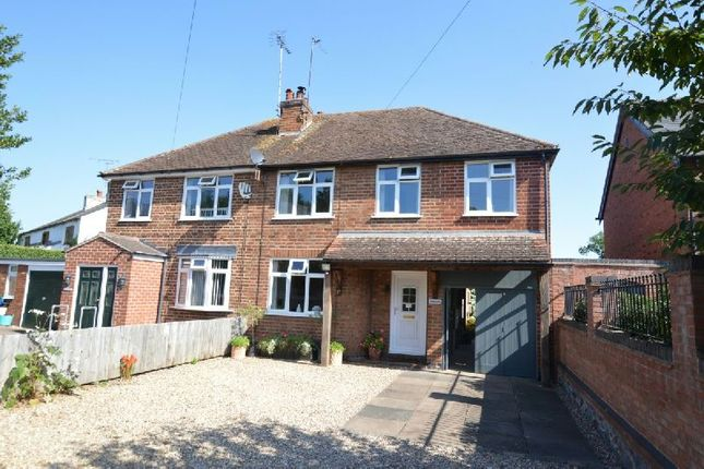 Thumbnail Semi-detached house for sale in Wigston Road, Blaby, Leicester