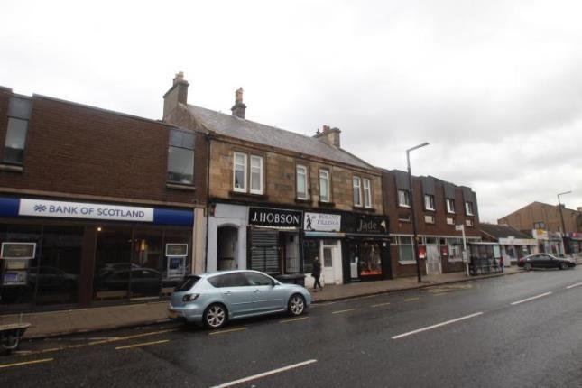 Exterior of Union Street, Larkhall, South Lanarkshire ML9
