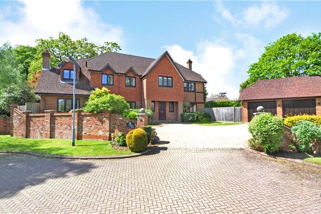 Thumbnail Detached house for sale in Coombe Hill Court, Windsor, Berkshire