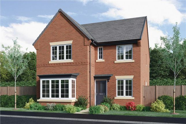 "Thumbnail Detached house for sale in ""Hampton"" at Burton Road, Streethay, Lichfield"