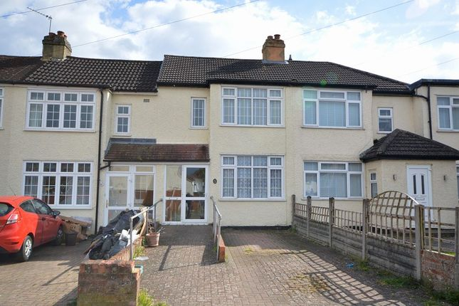 3 bed terraced house for sale in Rollesby Road, Chessington, Surrey. KT9