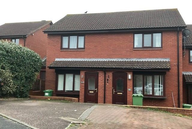 Thumbnail Terraced house to rent in Ilex Close, Exeter
