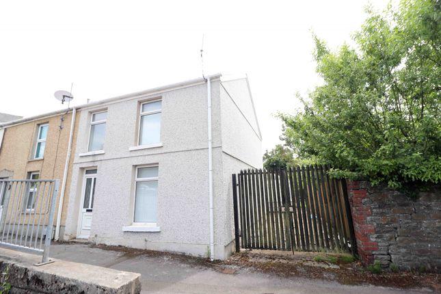Thumbnail End terrace house for sale in Carmarthen Road, Swansea