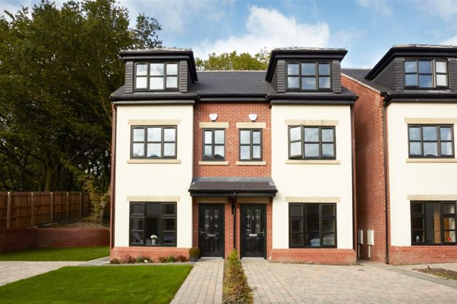 Thumbnail Town house for sale in Woodland Grange, Ellenbrook, Manchester