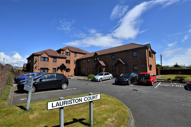 Thumbnail Flat for sale in 8 Lauriston Court, Ardrossan