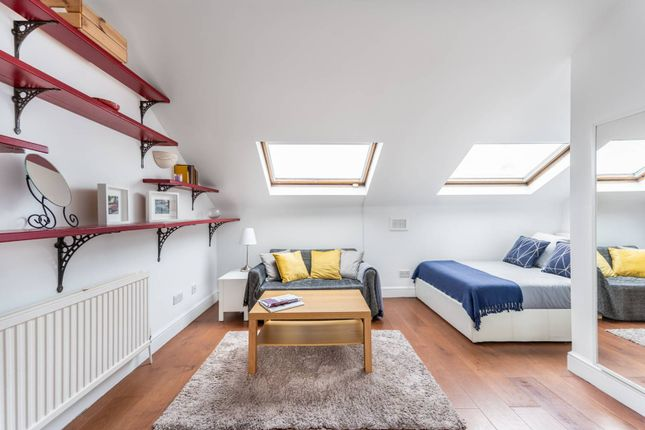 Thumbnail Studio to rent in Fermoy Road, Westbourne Park, London