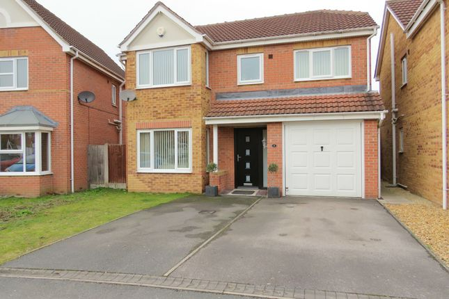 Thumbnail Detached house for sale in Haller Close, Armthorpe, Doncaster