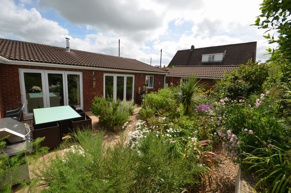 Thumbnail Detached bungalow for sale in Cricket Close, Chulmleigh