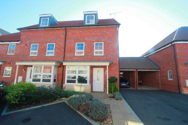 Thumbnail End terrace house for sale in Overton Road, Worthing