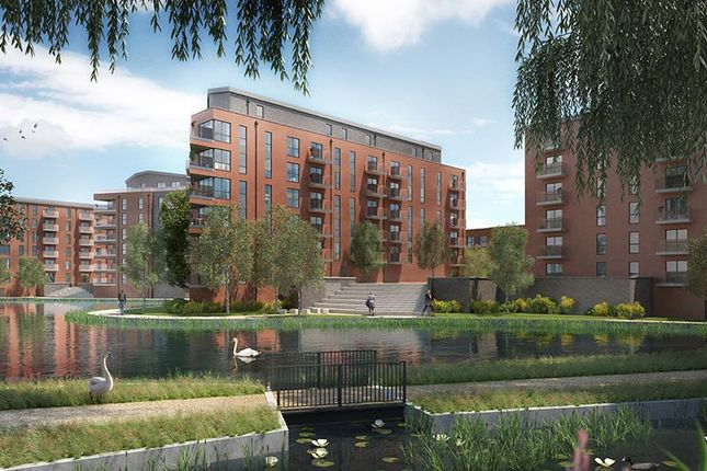 Thumbnail 3 bed flat for sale in Langley Square, The Earl, Mill Pond Road, Dartford, Kent