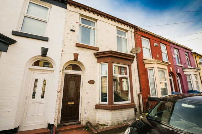 Thumbnail Terraced house for sale in Stevenson Street, 16, Merseyside