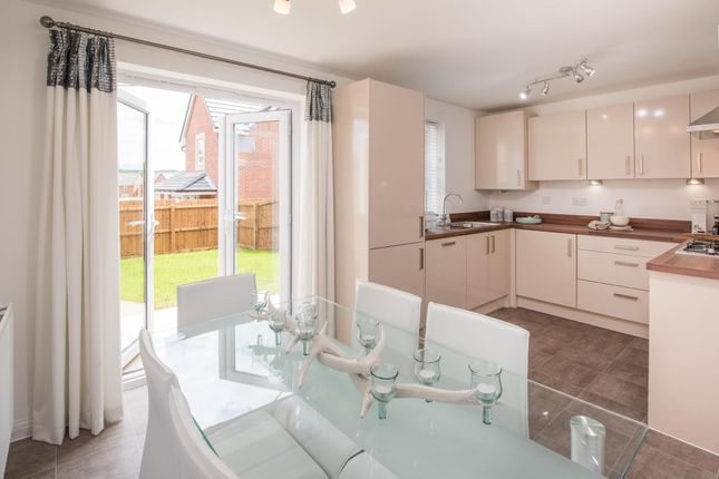 """Thumbnail End terrace house for sale in """"Moresby"""" at Dunnocksfold Road, Alsager, Stoke-On-Trent"""