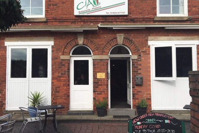 Thumbnail Restaurant/cafe for sale in Park Lane, Poynton, Stockport