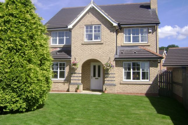 Thumbnail Detached house to rent in Priorswood, Fir Tree, Crook