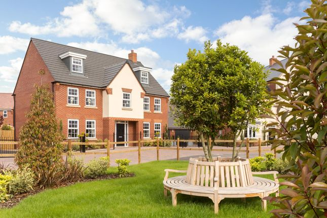 """Thumbnail Detached house for sale in """"Lichfield"""" at Dudley Close, Marston Moretaine, Bedford"""