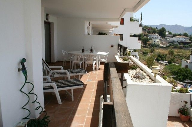 Full Terrace of Spain, Granada, Almuñecar, La Herradura