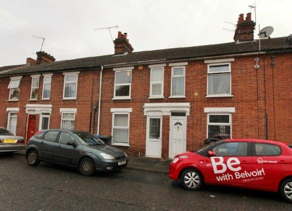 Thumbnail Terraced house for sale in Hartley Street, South, Ipswich