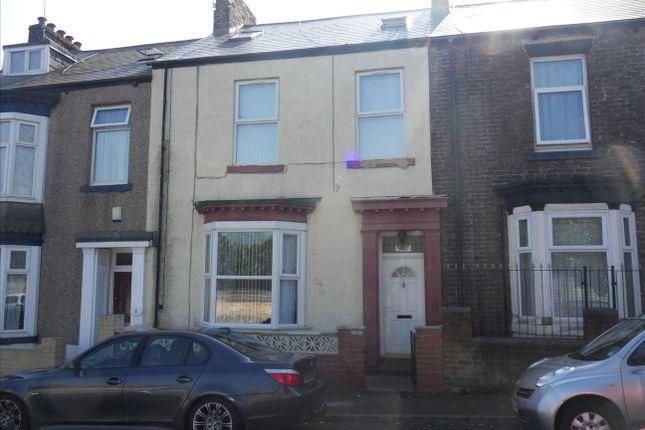 Thumbnail Terraced house to rent in Egerton Street, Sunderland