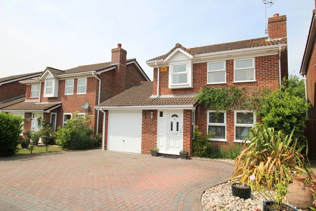 Thumbnail Detached house for sale in Laurel Gardens, Locks Heath, Southampton