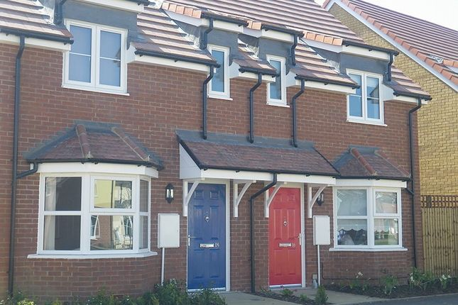 Thumbnail End terrace house to rent in Grandridge Close, Fulbourn, Cambridge
