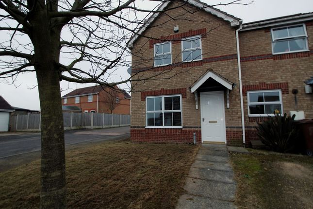 Thumbnail Semi-detached house to rent in Foxhunters Way, South Elmsall, Pontefract