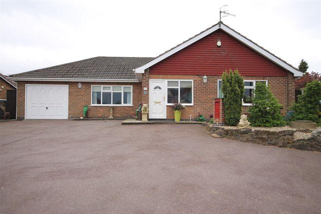Thumbnail Detached bungalow for sale in Shelton Avenue, Hucknall, Nottingham