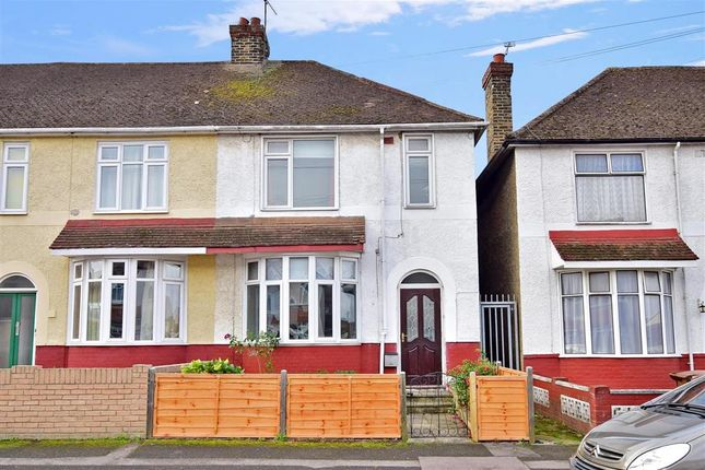 Thumbnail End terrace house for sale in Brenchley Road, Gillingham, Kent