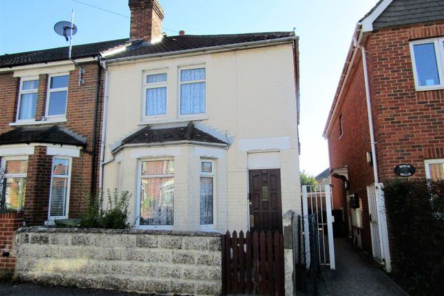 Thumbnail End terrace house for sale in Beech Road, Southampton