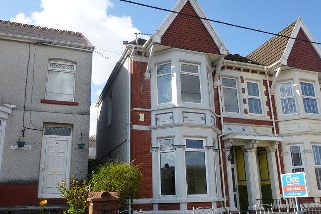Thumbnail Semi-detached house for sale in Ceidrim Road, Garnant, Ammanford, Carmarthenshire.