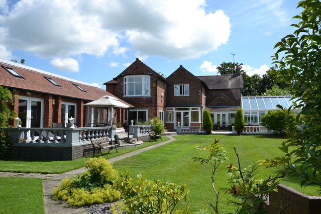 Thumbnail Detached house for sale in Manchester Road, Wilmslow