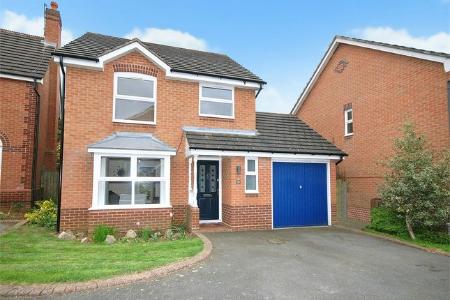 Thumbnail Detached house for sale in Stourhead Drive, East Hunsbury, Northampton