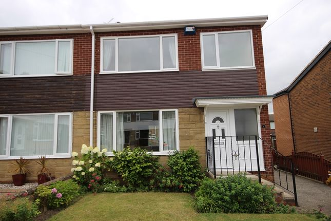 Thumbnail Semi-detached house to rent in Parkways Court, Oulton, Leeds