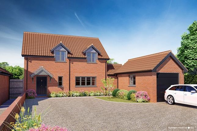 Thumbnail Detached house for sale in Castle Hill Road, New Buckenham, Norwich