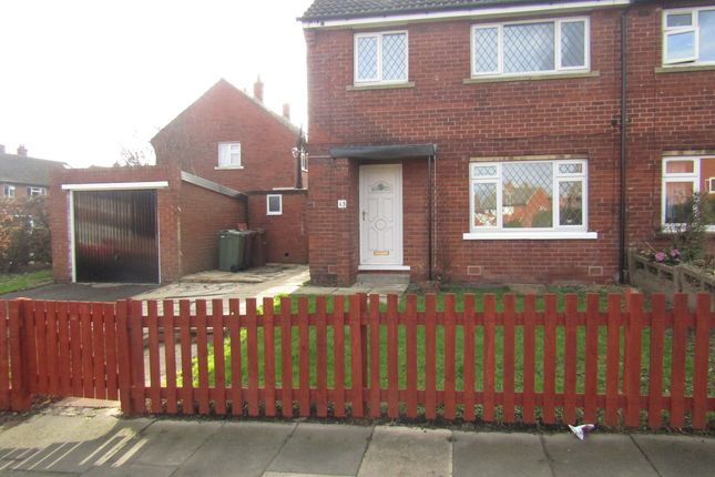 Thumbnail Semi-detached house to rent in Broadacre Road, Ossett, Wakefield