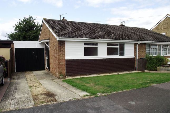 Thumbnail Semi-detached bungalow to rent in Shakespeare Road, Eynsham, Witney