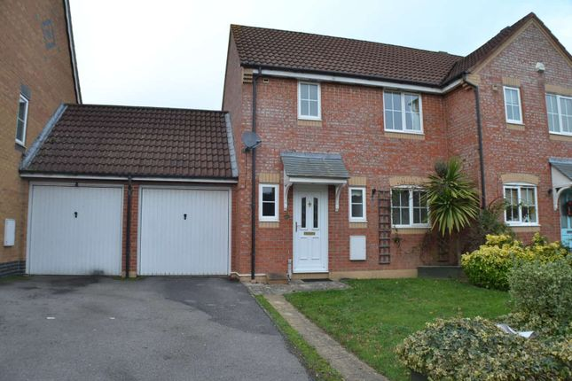 Thumbnail Semi-detached house to rent in Harebell Drive, Thatcham