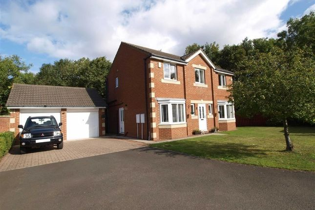 Thumbnail Detached house for sale in Edgefield Drive, Cramlington