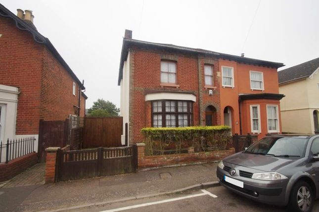 Thumbnail Semi-detached house for sale in Meyrick Crescent, Colchester
