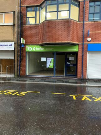 Thumbnail Retail premises to let in 33A Taff Street, Pontypridd, Mid Glamorgan