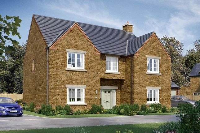 "Thumbnail Detached house for sale in ""The Oakham"" at Malt Mill Close, Kilsby, Rugby"