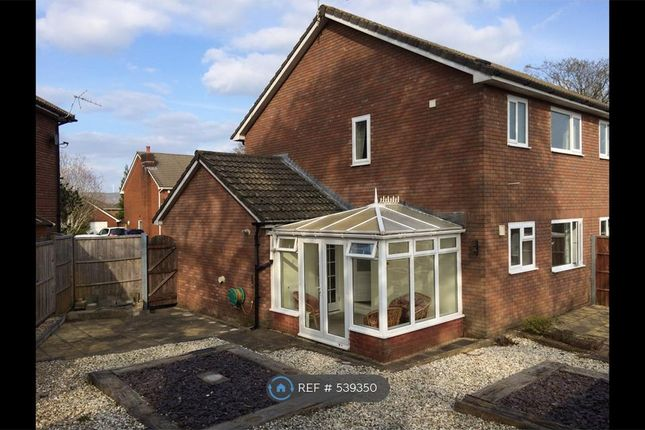 Thumbnail Semi-detached house to rent in Clos Penglyn, Bridgend