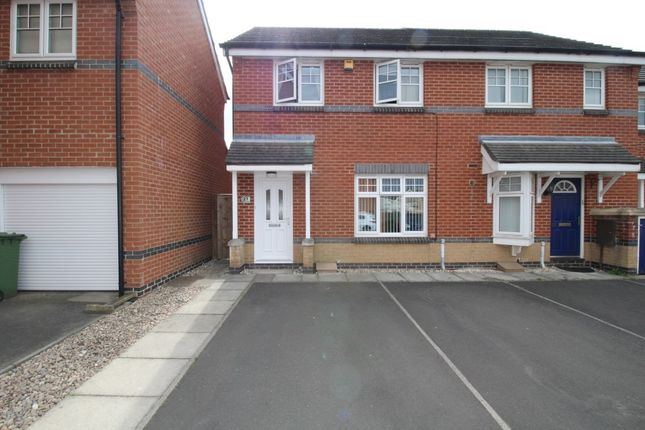 Thumbnail Semi-detached house for sale in Ingleby Way, Blyth