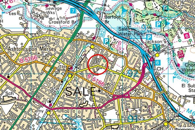 Town Plan of Priory Road, Sale M33