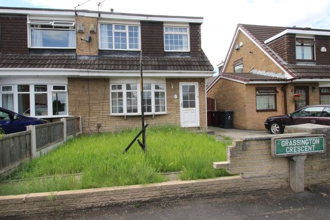 3 bed semi-detached house for sale in Grassington Crescent, Woolton, Liverpool